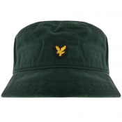 Lyle And Scott Twill Bucket Hat Green